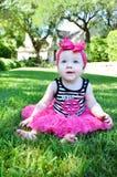 Сладостные щеки младенца Стоковая Фотография