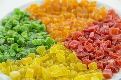 Сладостные candied высушенные плодоовощи, Стоковые Фотографии RF