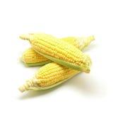 Сладостные Corns изолированные на белой предпосылке Стоковая Фотография