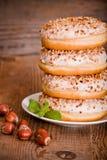 Сладостные donuts с брызгают Стоковые Изображения
