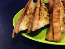 Сладостные nutela хлеба и молоко choco Стоковое Изображение