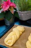 Сладостный белый хлеб домодельный Стоковое Фото