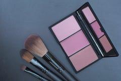 Сладостный взгляд, розовый комплект состава тона Стоковые Фотографии RF