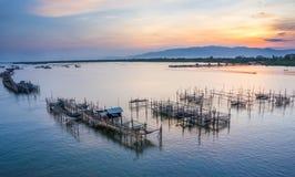 Сладостный восход солнца моря Стоковые Изображения RF