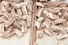 Сладостный десерт бахлавы и другие помадки восточные Стоковые Фотографии RF