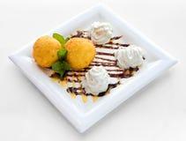 Сладостный десерт стоковые фото