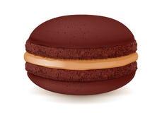Сладостный десерт macaroon на белизне Стоковая Фотография RF