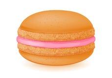 Сладостный десерт macaroon на белизне Стоковые Изображения RF