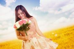 Сладостный запах влюбленности лета Стоковая Фотография RF
