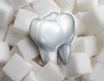 Сладостный зуб иллюстрация вектора