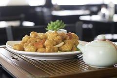 Сладостный & кислый цыпленок 1 Стоковые Фото