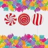 Сладостный магазин конфеты бесплатная иллюстрация