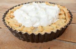 Сладостный органический пирог ревеня яблока Стоковые Изображения RF