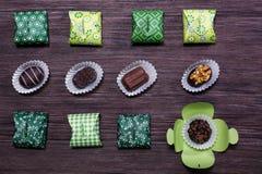 Сладостный подарок конфеты Стоковое Изображение