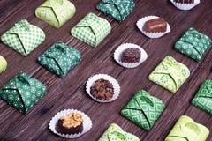Сладостный подарок конфеты Стоковая Фотография