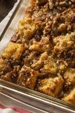 Сладостный пудинг домодельного хлеба Стоковые Фотографии RF