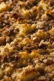 Сладостный пудинг домодельного хлеба Стоковое фото RF