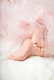 Сладостный ребёнок, маленькие ноги Стоковое фото RF