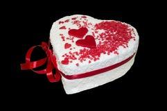Сладостный романтичный подарок Стоковые Изображения RF