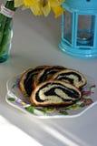 Сладостный хлеб для пасхи Стоковое Изображение