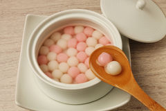 Сладостный шарик риса Стоковые Фотографии RF
