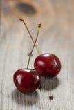 2 сладостных вишни Стоковые Изображения