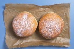 2 сладостных donuts Стоковые Изображения RF