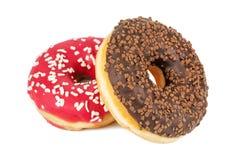 2 сладостных donuts Стоковое Изображение