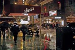 Off Broadway, New York. 23 Nov 2011 Стоковые Фотографии RF