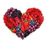 С влюбленностью к ягодам Стоковые Фотографии RF