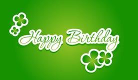 С днем рождения помечающ буквами бесплатная иллюстрация