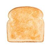 Слегка провозглашанный тост кусок хлеба Стоковое Фото