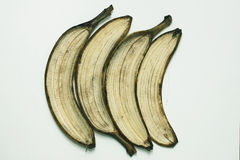 Слезьте банан Стоковое Фото