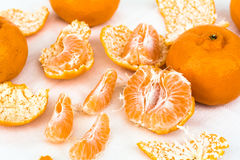 слезли помеец мандарина, котор Стоковые Фотографии RF