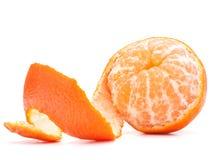 Слезли плодоовощ tangerine или мандарина Стоковые Изображения RF