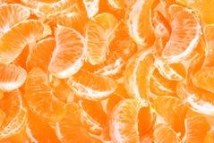 Слезли плодоовощ tangerine или мандарина Стоковое Фото
