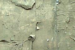 Слезли текстура бетонной стены Стоковая Фотография