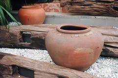 сделанный опарник глины Стоковая Фотография RF