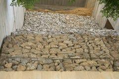 Сдерживание камней стоковая фотография rf