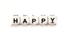 Сделайте ваше собственное счастье стоковые изображения rf