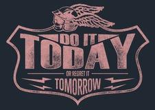 Сделайте его сегодня Стоковые Фотографии RF