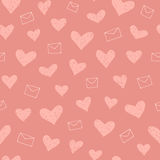 сделайте по образцу безшовные valentines Стоковые Фото