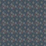 сделайте по образцу безшовный сбор винограда Голубая предпосылка grunge также вектор иллюстрации притяжки corel Стоковое Изображение RF