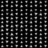 Сделайте по образцу треугольник предпосылки, ретро винтажный дизайн, геометрический Стоковые Изображения RF