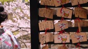Сделайте Сакуру пожелать Стоковое Изображение