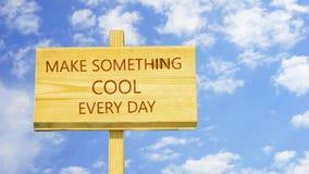 Сделайте что-то холодный акции видеоматериалы