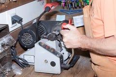 Сделайте locksmith ключа металла Стоковая Фотография RF