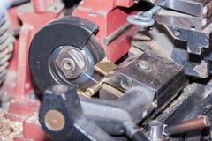 Сделайте locksmith ключа металла Стоковое фото RF