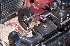Сделайте locksmith ключа металла Стоковое Фото