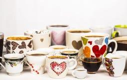 сделанная влюбленность иллюстратора иллюстрации кофейной чашки самана Стоковая Фотография RF